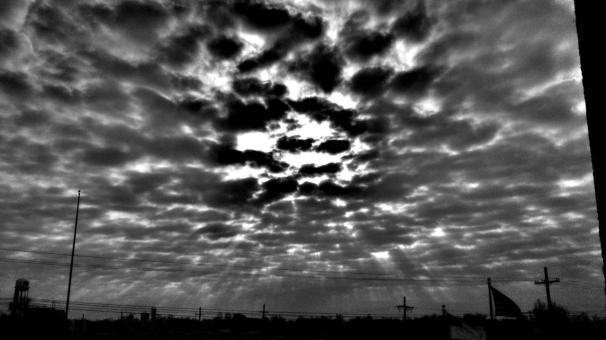 a dark day