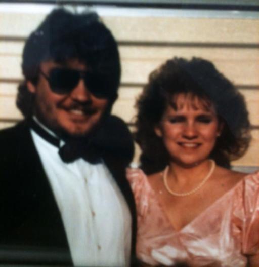 Laura & me sr prom