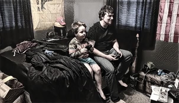 Blog 03-28-18 Trey & Joshy video game