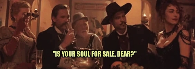 Blog is your soul for sale