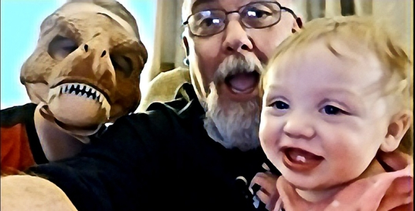 Blog me and the grandkids