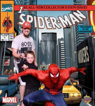 Spidey Real with Trey