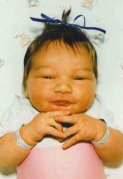 Jess First Baby pic STRAIGHT