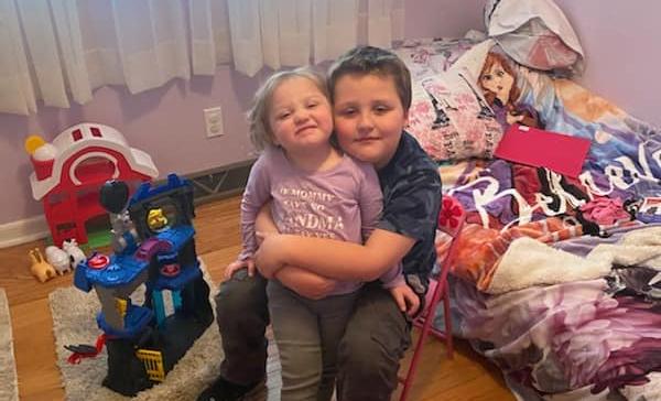 Joshy hugging Jenna 2