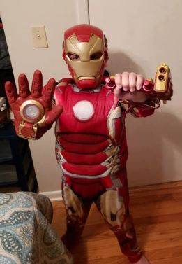 Blog 06-19-20 Joshy as Iron Man